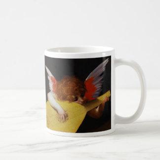 Musician Angel, Rosso Fiorentino Coffee Mug
