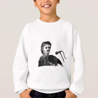 Musician at the mic sweatshirt