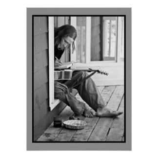 Musician at Work Poster