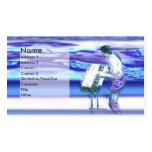 Musician Blues - Business Business Card Template