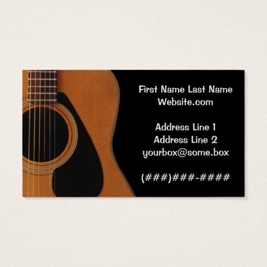Musician business card zazzle musician business card reheart Choice Image