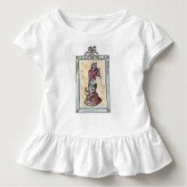 Musician cat toddler t-shirt