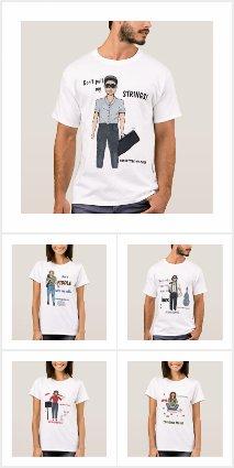 Musician Character Shirts