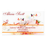 Musician Double-Sided Standard Business Cards (Pack Of 100)