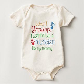 Musician (Future) Like My Mommy Baby Bodysuit