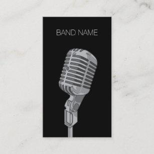 Musician business cards templates zazzle musician guitarist singer band artist publicity business card colourmoves