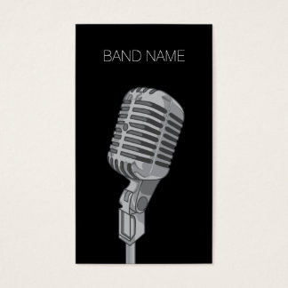 Musician Guitarist Singer Band Artist Publicity Business Card