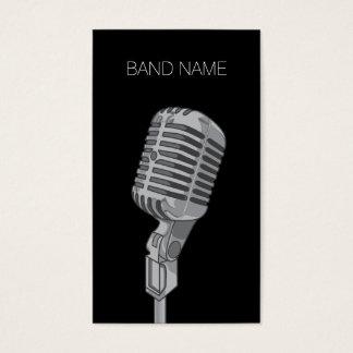 Musician Guitarist Singer Band Artist Publicity Business Card