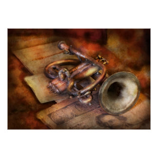Musician - Horn - Toot my horn Poster