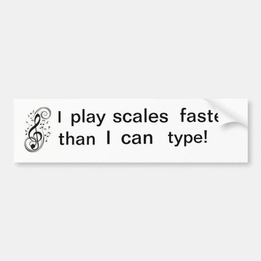 Musician issues bumper sticker