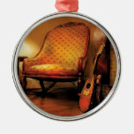 Musician - Lute - The chair and the lute Ornament