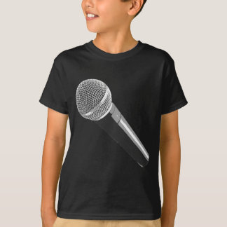Musician Microphone T-Shirt