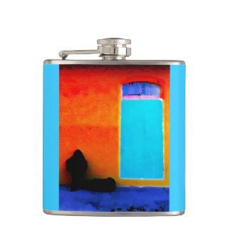 """Musician Obscured"" JTG Art Flask"