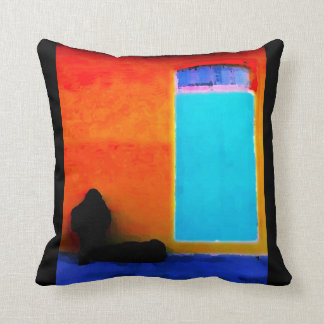 """Musician Obscured"" JTG Art Pillow"
