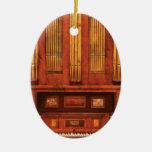 Musician - Organist - Skippack  Ville Organ - 1835 Christmas Ornament