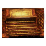 Musician - Organist - The Pipe Organ Greeting Cards