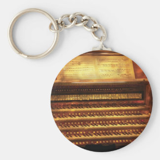 Musician - Organist - The Pipe Organ Keychain