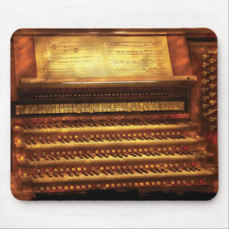 Musician - Organist - The Pipe Organ Mouse Pad