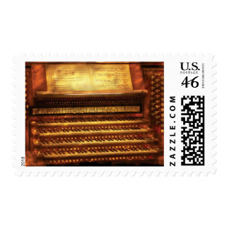 Musician - Organist - The Pipe Organ Postage Stamp