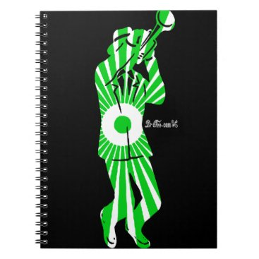 Aztec Themed MUSICIAN  OTOMI AZTEC DRCHOS.COM CUSTOMIZABLE PRO NOTEBOOK