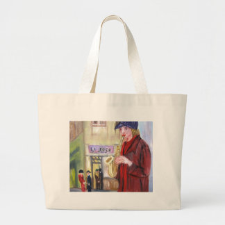 Musician Painting On your Products Tote Bags