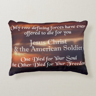 Musician Patriotic Pillow ANY COLOR
