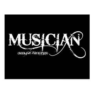 Musician...seeking Groupies! Postcard