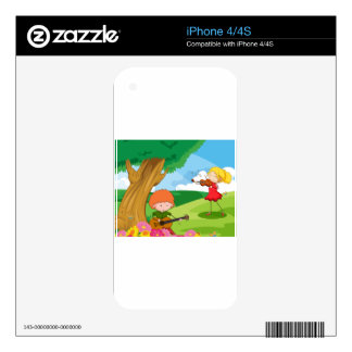Musician Skin For iPhone 4S