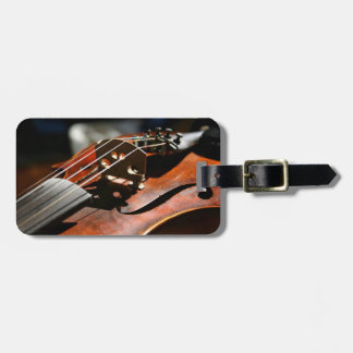 Musician Violin Case Travel ID Luggage Tags