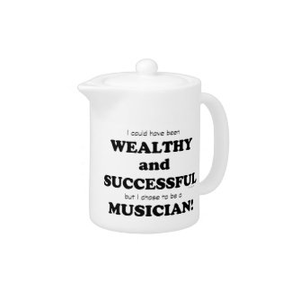 Musician Wealthy & Successful