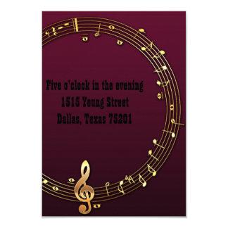 Musician Wedding Invitations