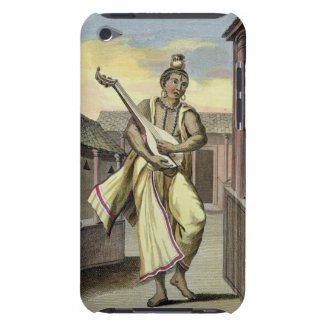 Musician with Indian Lute, from 'Voyage aux Indes iPod Touch Cover