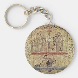 Musicians And Galloping Horsemen Key Chains