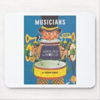 Musicians around the World Mousepad