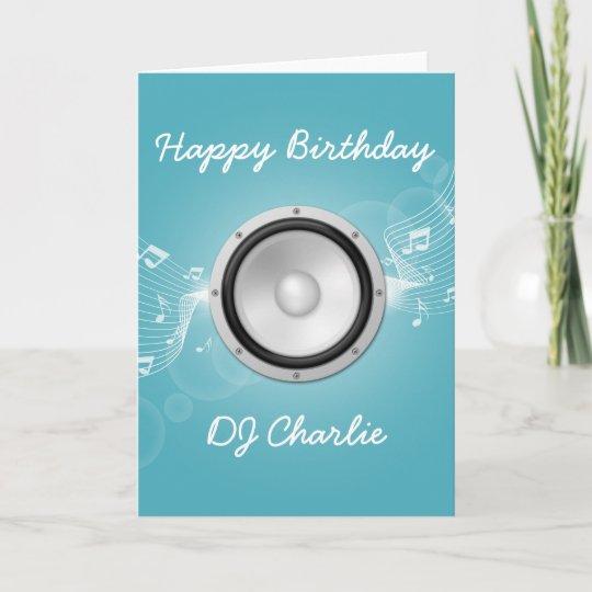 Musicians Birthday Card