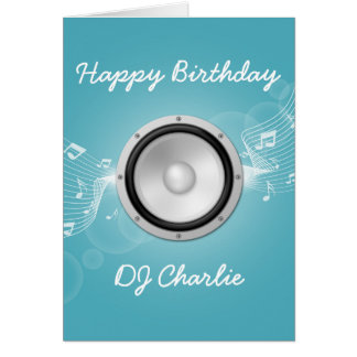 Musicians Birthday Card