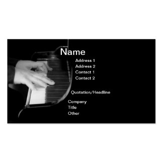 Musician's Business Card