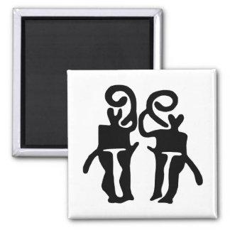 Musicians-BW Refrigerator Magnets