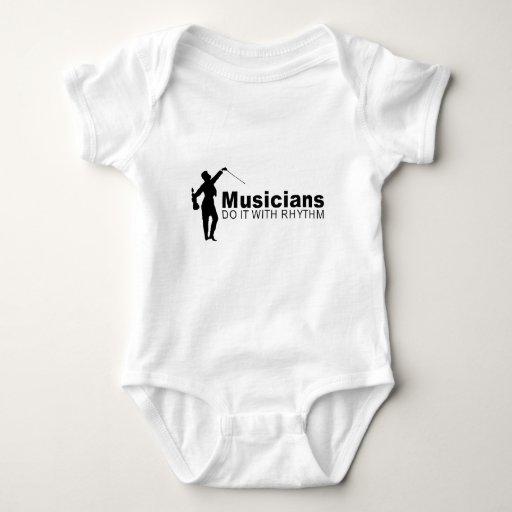 musicians do it with rhythm shirt