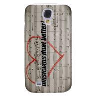 Musicians Duet iPhone 3 case