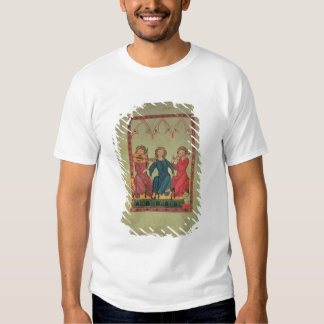 Musicians, from the Manasse Codex, a collection of Tshirt