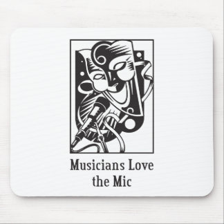 Musicians Love the Mic Mouse Pad