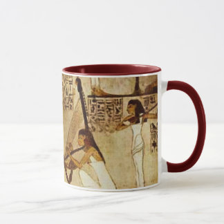 Musicians of Akhnaton Ancient Egyptian Art Mug