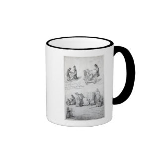 Musicians on the streets of London, 1841-43 Mugs