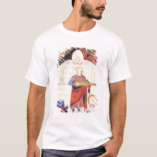 Musicians playing the guitar and tambourine T-Shirt