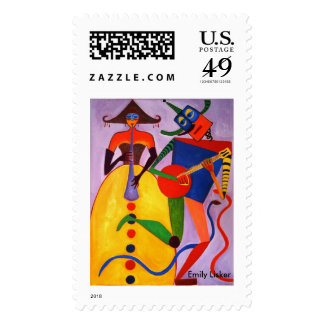 Musicians Postage Stamps