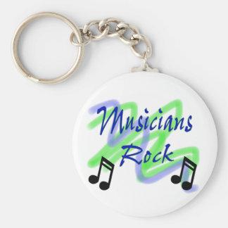 Musicians Rock Key Chain
