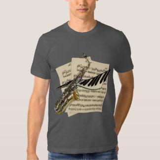Musicians Saxophone & Piano T-Shirt