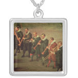 Musicians Silver Plated Necklace
