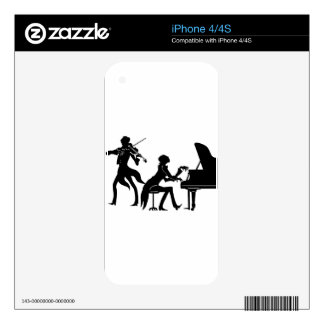 Musicians Skin For The iPhone 4S